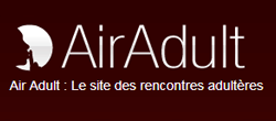logo du site de rencontre Air Adult